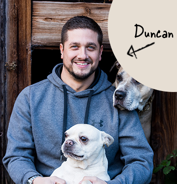 Duncan's team member picture